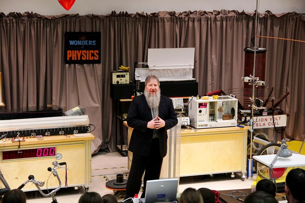 Man Presenting on Stage