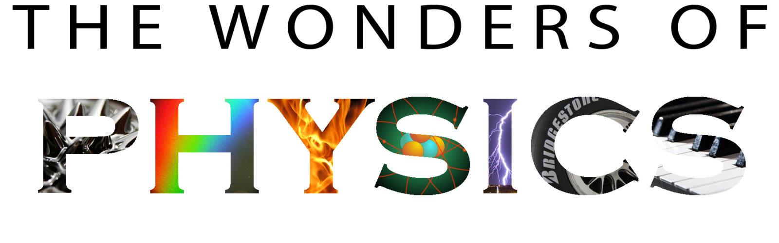 The Wonder of Physics Banner
